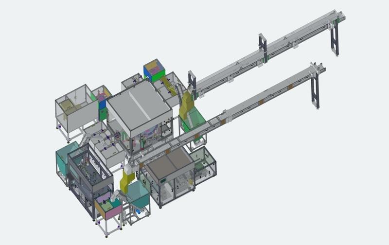CCD外观检查机设备的工作原理